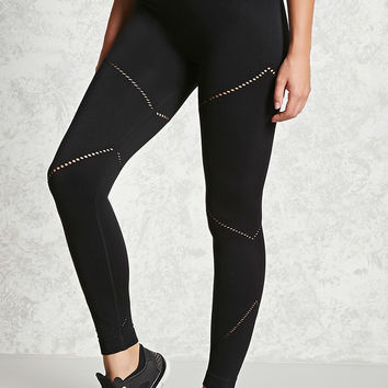Active Laser-Cut Seam Leggings
