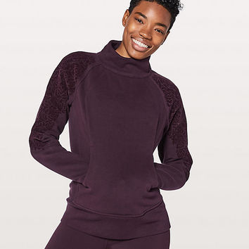 Floral Flock Pullover | Women's Long Sleeves | lululemon athletica