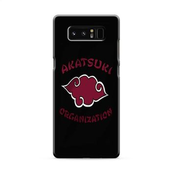 Akatsuki Organization Samsung Galaxy Note 8 Case