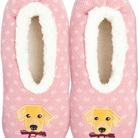 Novelty Slippers-Dog - Small/Medium