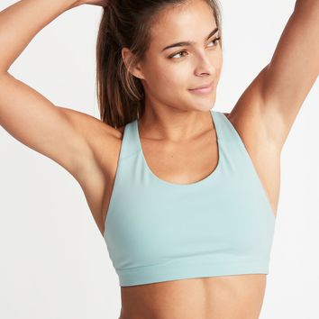 Medium Support Strappy Sports Bra for Women | Old Navy