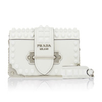 Embellished Cahier Leather Shoulder Bag | Moda Operandi