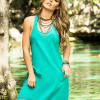 Bohemian Tasseled Cover-Up Dress