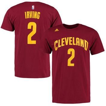 Kyrie Irving Cleveland Cavaliers adidas Net Number T-Shirt ¨C Wine