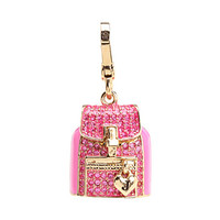 Juicy Couture Pave Backpack Charm