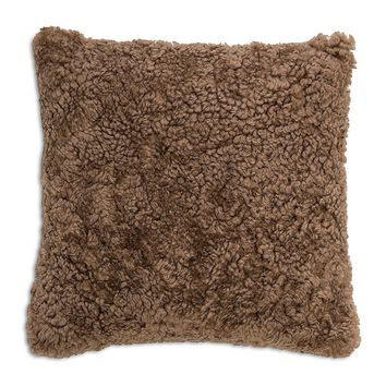 Mongolian Sheep Fur Pillow