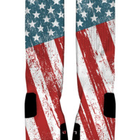 Stars & Stripes Custom Nike Elite Socks | Rock 'Em Apparel