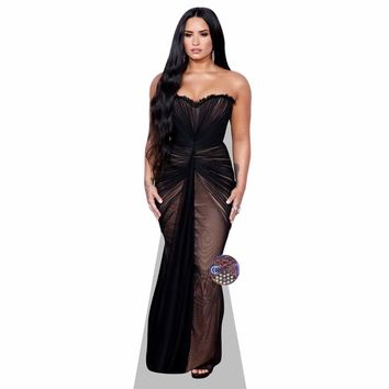Demi Lovato (Black Dress) Life Size Cutout