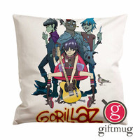 Gorillaz Band Cushion Case / Pillow Case
