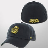 '47 Brand University of Michigan Navy Vault Wolverine Franchise Fitted Hat