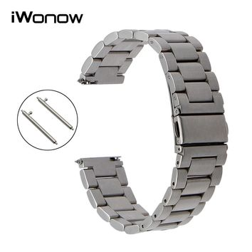 Quick Release Stainless Steel Watch Band for Tissot T035 PRC 200 Longines Mido Omega Men Women Wrist Strap 18mm 20mm 22mm 23mm