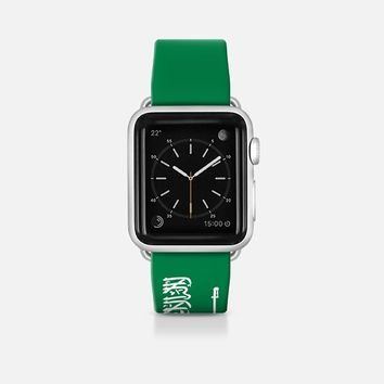 Saudi Arabia flag - Patriot collection Apple Watch Band (42mm)  by WAMDESIGN | Casetify