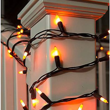 Orange String Lights - Spirithalloween.com