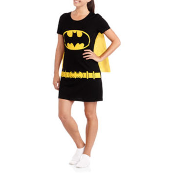 Walmart: Women's Character Sleep Shirt with Cape