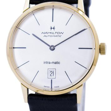 Hamilton Intra-Matic Automatic Silver Dial H38475751 Men's Watch