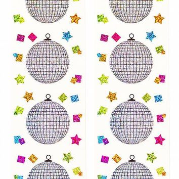 Disco Ball Sticker Sheets