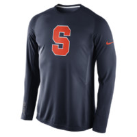 Nike Disruption Long-Sleeve (Syracuse) Men's Basketball Shooting Shirt (Blue)