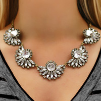 Page 6 Boutique - Flora Jeweled Necklace