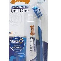 Nylabone Advanced Oral Care Dog Dental Kit w/Brush