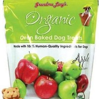 Grandma Lucy's Organic Apple Baked Dog Treats 14oz