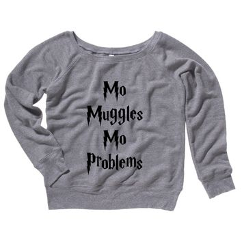 Mo Muggles Mo Problems Womens Sweater