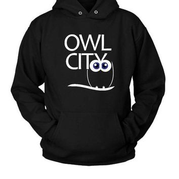 Owl City Logo Hoodie Two Sided