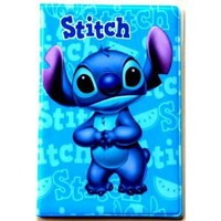 Stitch in Lilo & Stitch Movie Disney  Passport Cover ~ Alien