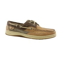 Womens Sperry Top-Sider Bluefish Boat Shoe, BrownTan, at Journeys Shoes
