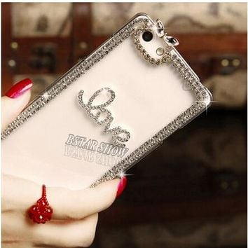 """SPARKLE iphone case Cool Crystal Fashion Rhinestone Phone Case For Apple Iphone 6 plus 6s Plus 5.5"""" AWESOME!"""