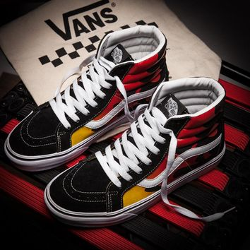 Vans Thrasher Flame High Top Flats Shoes Sneakers Sport Shoes