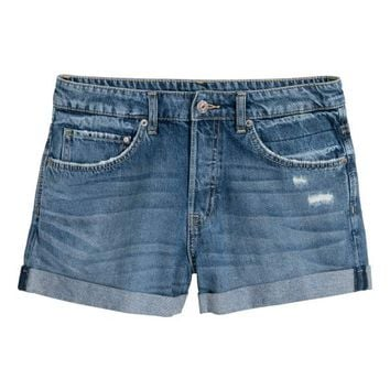 H&M Denim Shorts Boyfriend $24.99