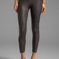 Yummie Tummie Lydia Python Legging in Black from REVOLVEclothing.com