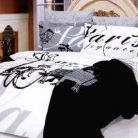 Le Vele Ellysee Duvet Cover Bed in Bag Full Queen Bedding Gift Set LE242