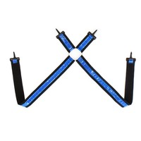 Blue Reflective Suspenders | Shuffle Suspenders from Kikwear