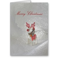 Christmas Reindeer Card by Janz