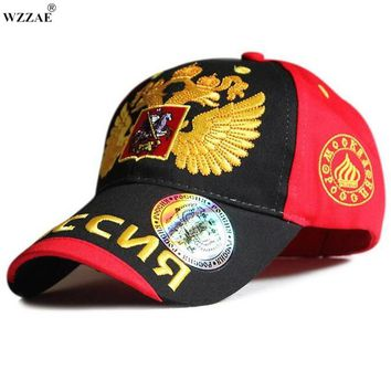 Trendy Winter Jacket WZZAE 2018 New Fashion For Olympics  Sochi Bosco Baseball Cap Snapback Hat Sunbonnet Brand Casual Cap Man Woman Hip Hop AT_92_12