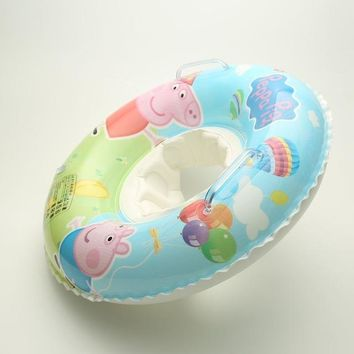 Swimming Pool beach Summer Baby Kid Peppa Pig Safe Swimming Ring Seat Float Seat Activities Accessories Acessorios Zwembad Swiming Pool AccessoiresSwimming Pool beach KO_14_1