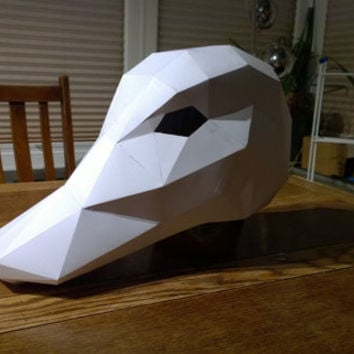 Make your own Duck Mask