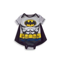 DC Comics™/Warner Bros® Batman Cape and Bodysuit Set in Grey