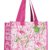 Lilly Pulitzer Market Bag- Pink Colony