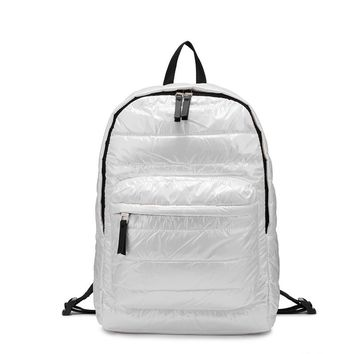 Women backpack space down cotton fashion for travel special