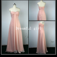 Free shipping sweetheart fashion bridemaid dresses