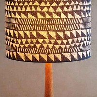 4040 Locust Turning Triangles Lamp Shade