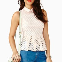 Pretty Peplum Top
