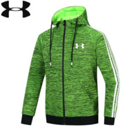 UNDER ARMOUR Fashion Hooded Zipper Cardigan Sweatshirt Jacket Coat Windbreaker Sportswear