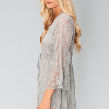 Show Me Your mumu Roxy Romper ~ So In Love Lace