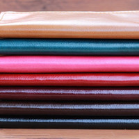 Caramel iPhone 5 Clutch Wallet Case -- Women's Leather Wallets - Available in 7 Brilliant Colors
