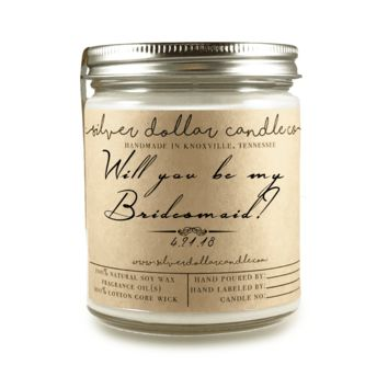 Bridesmaid Proposal - 8oz Soy Candle [V4]