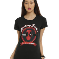 Marvel Deadpool Healing Factor Girls T-Shirt