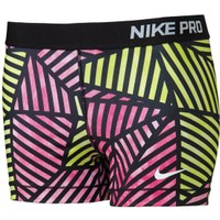 Nike Women's 3'' Pro Fade Printed Compression Shorts